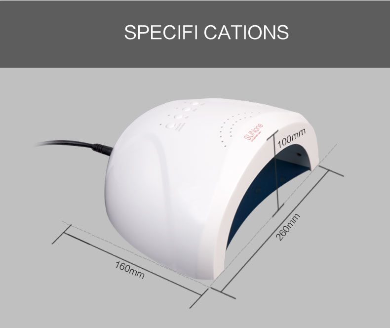Automatic UVLED Nail Lamp for Nail Art 72W with PSE Certification